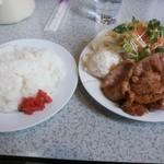 Rindo - 豚の生姜焼きライス¥850