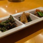 釜めしビクトリア - セットの前菜