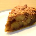 GRANNY SMITH APPLE PIE & COFFEE - ダッチ クランブル:ザクザクとした食感が、あとをひく。仄かな甘味が、それをアシスト