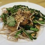 ピッキーヌ - カノム・パッ・カー1,200円、大根もちと野菜の炒め