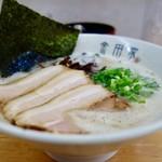 金田家 - [2017/06]黒豚ラーメン(650円)