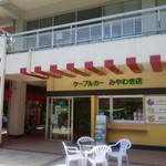 筑波山ケーブルカー 宮脇駅売店 -