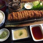 焼肉 肉料理 天神 - 牛カツ膳200g