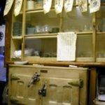 安兵衛 - 氷で冷やす冷蔵庫(改装前の写真です)