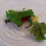 CANOVIANO ANNEX - すずき炙りのカルパッチョ