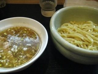 ひるがお 駒沢本店 - チャーシュー塩つけ麺