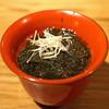 高太郎 - 料理写真:能登産の黒もずく酢
