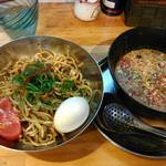 中華そば de 小松 - 冷やし坦々つけ麺
