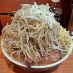68405052 - 小ラーメン (ヤサイ,ニンニク)+ショウガ