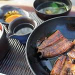 皿屋 福柳 - 蒲焼膳(3000円)