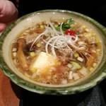 うどん棒 - オリーブ牛つけ麺