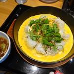 らあめん花月嵐 - 鉄板イタめしパクチーカレー味(630円)