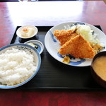 黒船食堂 - 料理写真:あじフライ定食