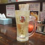 横濱ハイハイ樓 - 樽詰ハイボール
