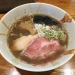 ひな多 - 「煮干しラーメン(並)」750円