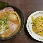 らー麺 鉄山靠 - 炒飯セット