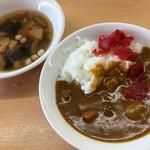 河京ラーメン館 - こづゆとカレー