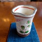 変若水の湯つたや - ドリンク写真:山葡萄ジュース(ウエルカムドリンク)