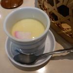 玉屋ファミリーレストラン - あとでやってきた茶碗蒸し