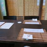 ヒカリヤ ヒガシ - 29年6月 和室テーブル席