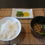 ヒカリヤ ヒガシ - 29年6月 御飯