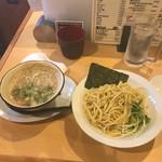 心ゝ和 - 麺とつけ汁。