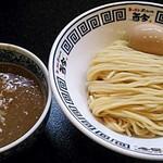 まるとら本店 - 【濃厚豚骨 魚介つけ麺 200g + 半熟煮卵】¥800 + ¥100