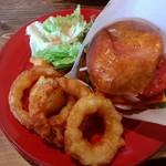 バーガーズマーケット - 料理写真:チーズバーガーBセットです♪