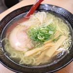 ラーメン 丸一 - 塩ラーメン290円