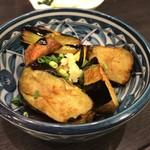 とんかつ 勝 - 茄子の生姜焼き