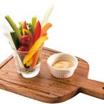 燻製マヨの野菜スティック