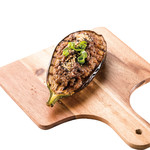 米ナスの肉味噌田楽