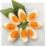 燻製の半熟卵