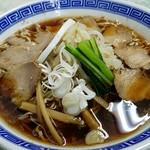 福寿 - 料理写真:上チャシュウメンアップ