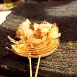 創作鉄板串 大将 - 玉ねぎ塩焼き130円