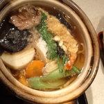小松庵 - 天ぷら鍋焼きそば