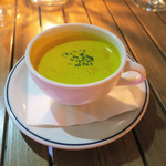dot. Eatery and Bar - サツマイモのスープ