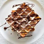 オリーブオイルとソフトクリームのお店 EVERYDAY OLIVE - チョコワッフル・M