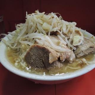 ラーメン二郎 - 料理写真:【再訪】豚ラーメン(ニンニク、アブラ)