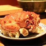 銀座 きた福 - 蟹の頭部