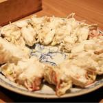 銀座 きた福 - 焼き蟹