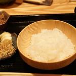 銀座 きた福 - 炊きこみご飯