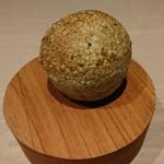 オルト - 自家製パンはアオサと胡麻のパン