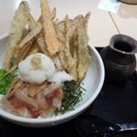 武膳 - ◆ごぼうおろしぶっかけ(通常は750円ですが、麺をハーフにして頂きましたので650円:税込)