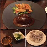 nikukitchin BOICHI - ハンバーグランチ