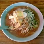 福来軒 - 味噌ラーメン(750円)