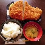 68427980 - ロースかつ定食(大)350g強…税込1680円