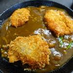 はりまや - 料理写真:肉カレーかつ丼