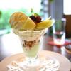 カフェレストラン オリビエ - 料理写真:メロンパフェ