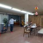 かあちゃんの店 - かつて食品センターだったスペースを食堂として流用